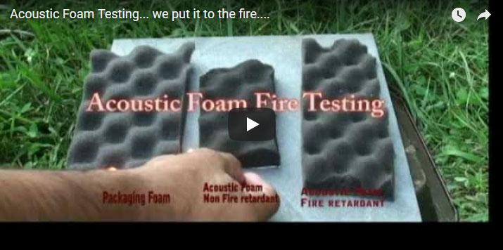 Acoustic-Foam-Testing