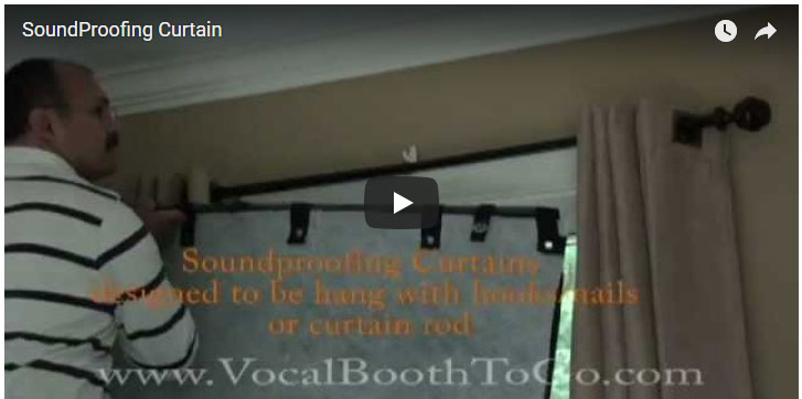 Sound Curtain Testing