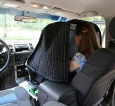 Carry-on Vocal booth 2013 used in a car