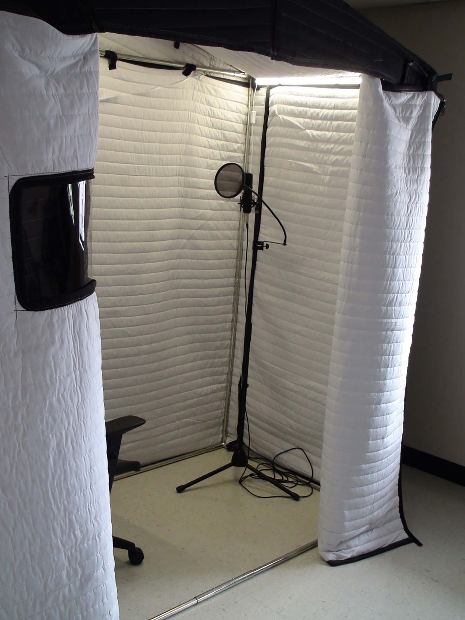 Acoustic Vocal Booth 6 X 3 Mobile Vocal Booths From