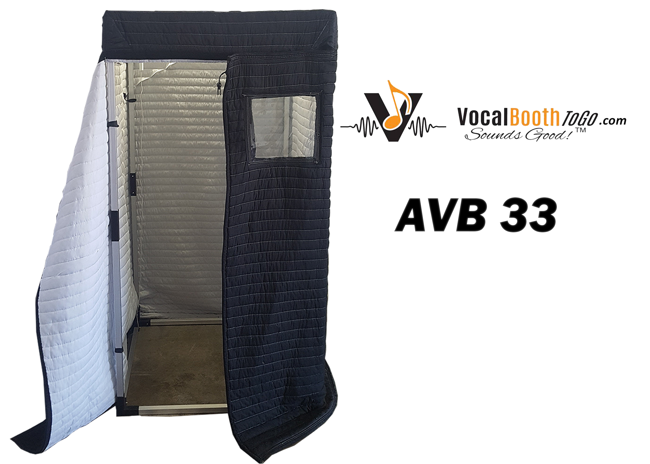 Acoustic Vocal Booth 3x3 Rental Vocal Booth Rentals