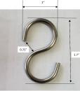 S-Hooks Size