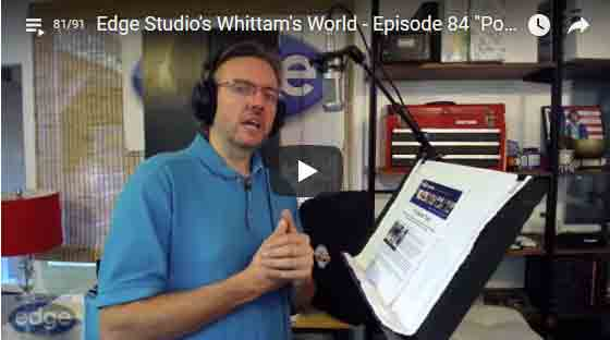 Portable acoustic vocal booths review by George Whittam