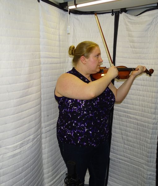 Soundproof Sound isolation booth SPB63 violin practice