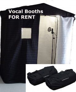 Vocal Booths Rentals
