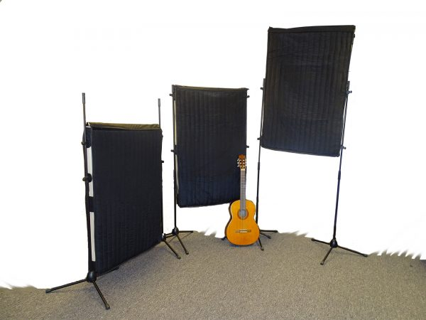 Adjustable Broadband sound absorption panel