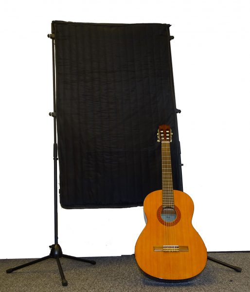 Free standing broadband acoustic panel-Guitar