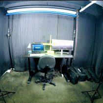 LA_RadioStudio-AcousticTreatment with SoundBlankets