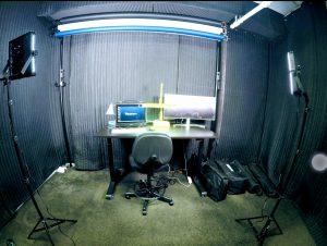LA_RadioStudio-AcousticTretment with SoundBlankets