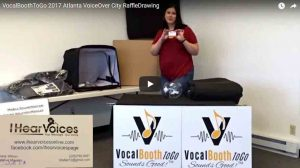 VocalBoothToGo Prize winners from Atlanta Voice Over City 2017