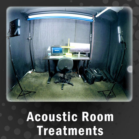 Noise reduction, reflection, reverberation cancelling. Blankets Producers Choice soundproofing and sound absorbing acoustic room treatment for recording ccontrol room and mixing.