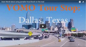 Dallas TX. Discussing VOMO and new gadgets with Dean Wendt