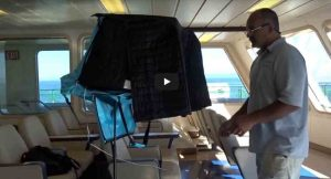 Making use of every moment – Voice Over recording on a Ferry