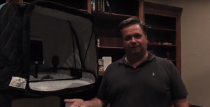 Portable Vocal booth delivers consistent sound anywhere I go - by Dean Wendt