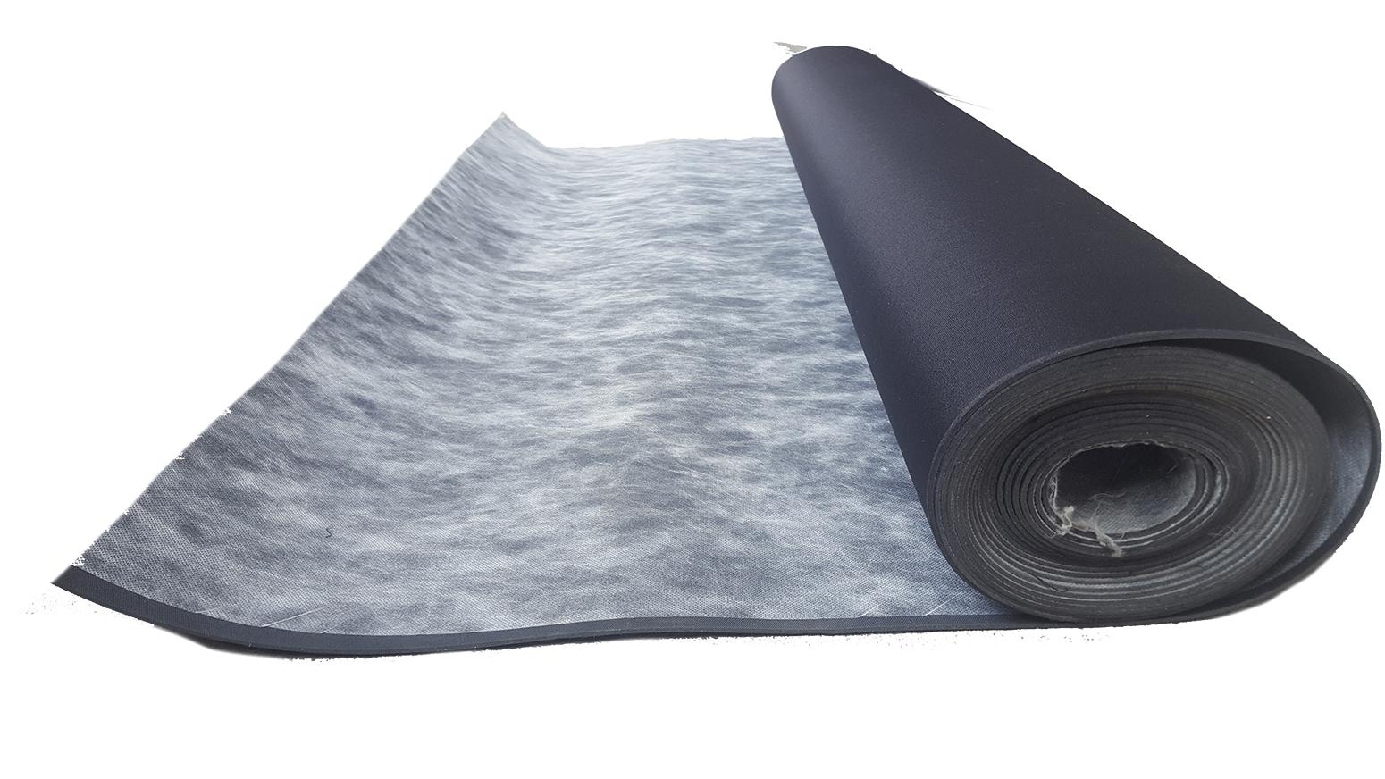 Soundproofing - Reinforced Limp mass sound barrier- 24ft Roll