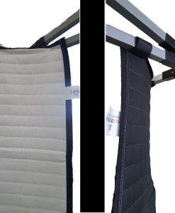Sound Absorption Strip - frame attached