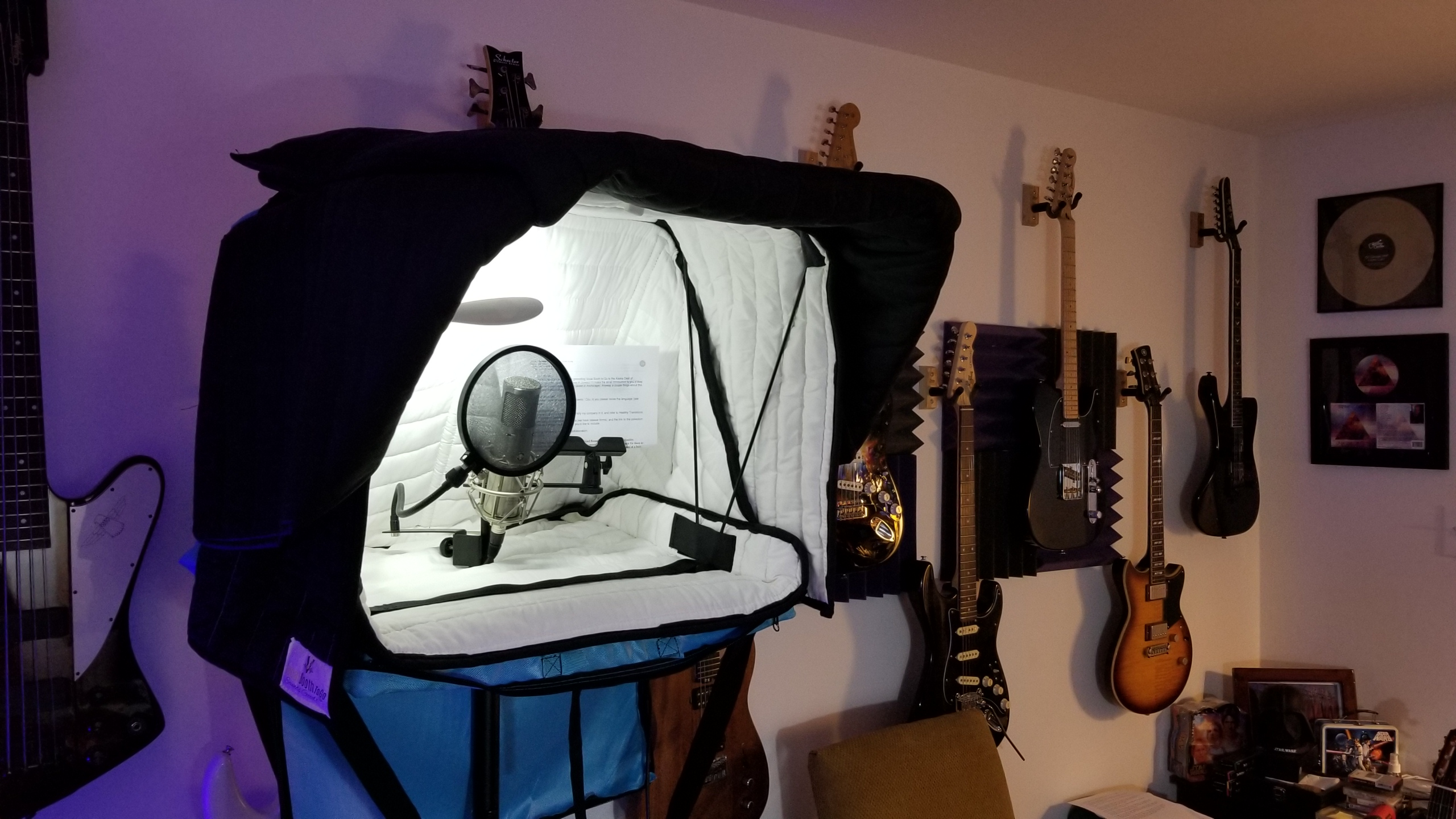 Portable Acoustic Room Rental