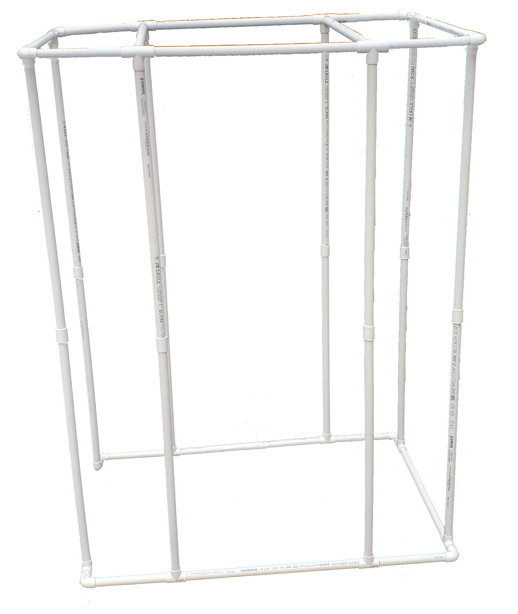 PVC VocalBooth Frame 58x38 complete