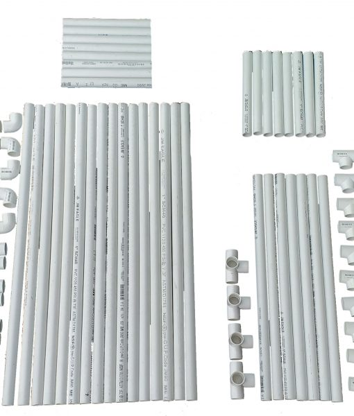 VocalBoothPVCFrame58x58Parts