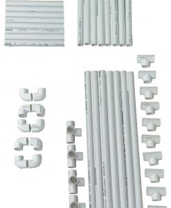 VocalBoothPVCFrame58x58Parts Basic Kit