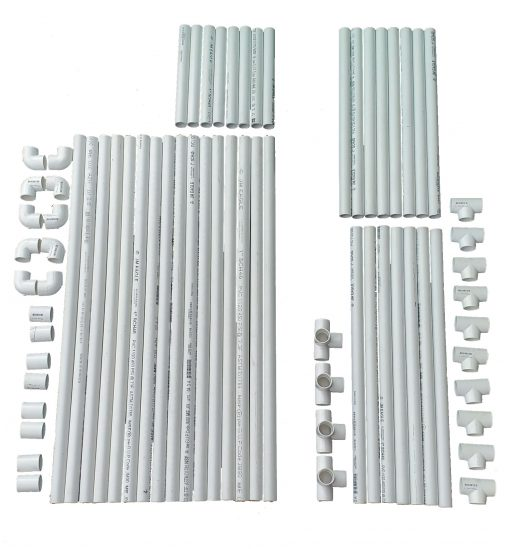 VocalBooth PVC Frame 58x78 complete parts