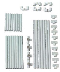 DIY VocalBooth PVC Basic Frame 58x78 parts