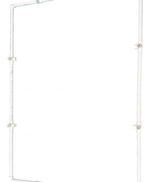 DIY VocalBooth PVC Frame 58x78 top