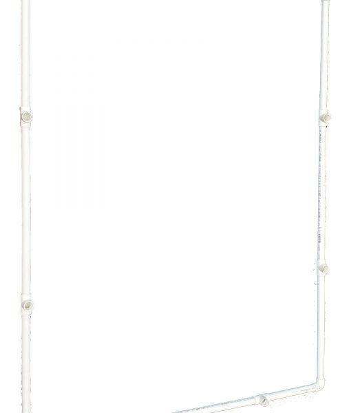 VocalBooth PVC Frame 78x78 base assembled