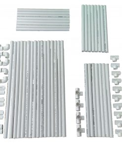 VocalBooth PVC Frame parts78x78 Complete