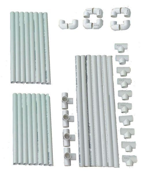 VocalBooth PVC Frame parts78x78 basic Kit