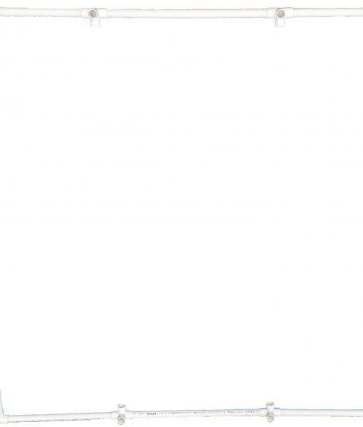 VocalBooth PVC Frame 78x78 top