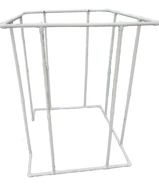 VocalBoothPVCFrame58x58SideView