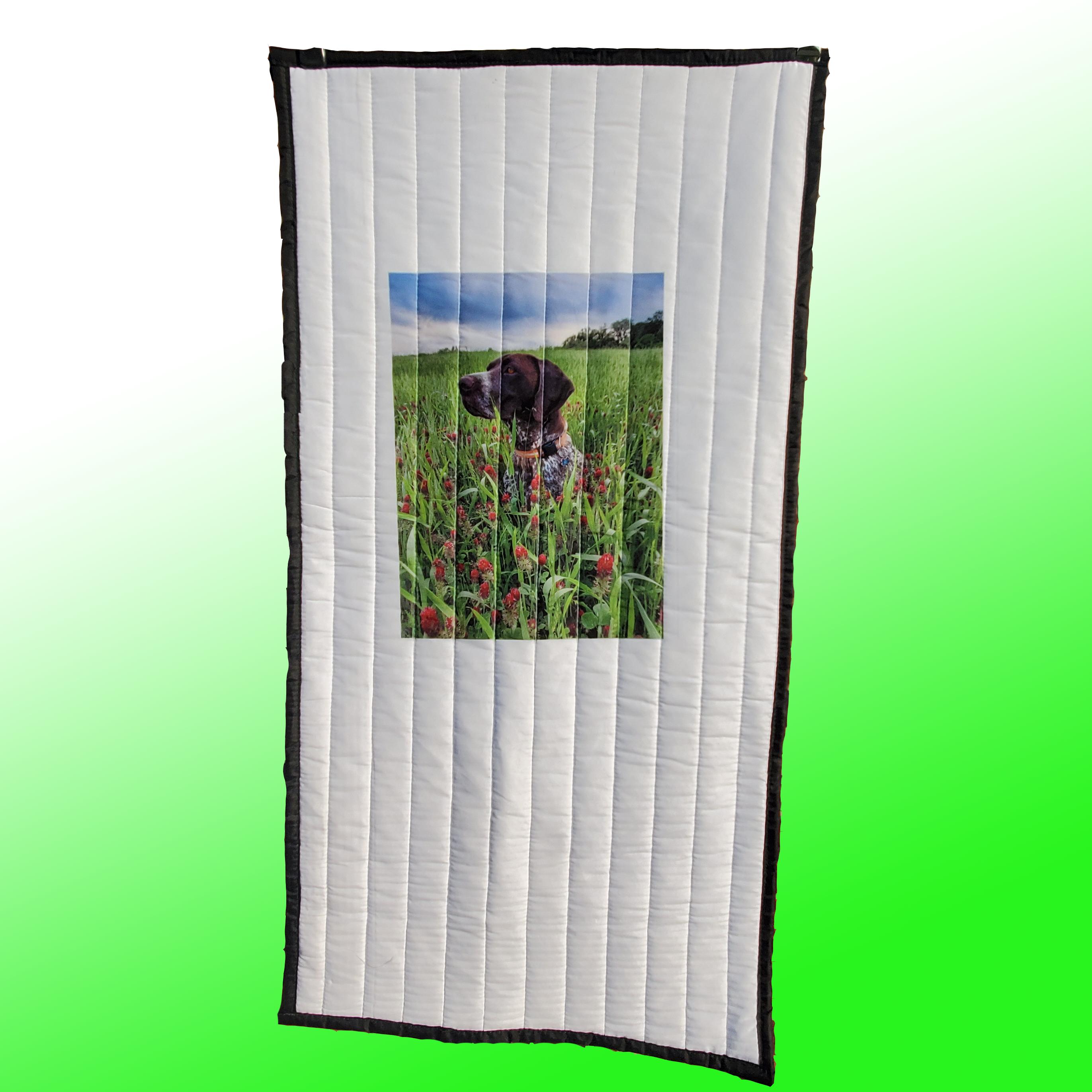 Custom imprint on Acoustic_Blanket -SMALL