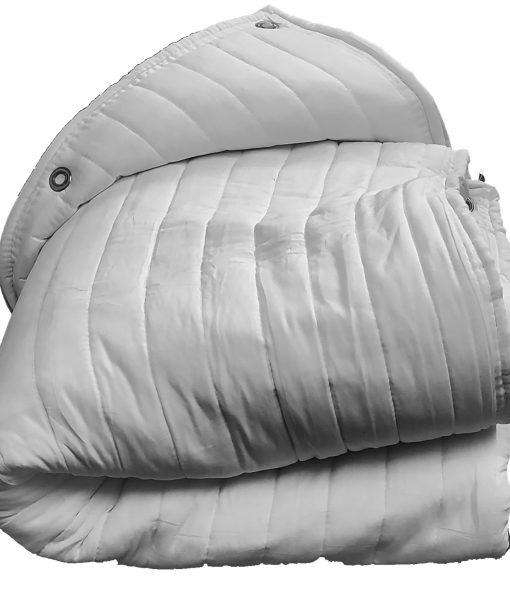 Folded AcousticDoorBlanket-White