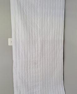 Acoustic Door Cover Blanket covering a door