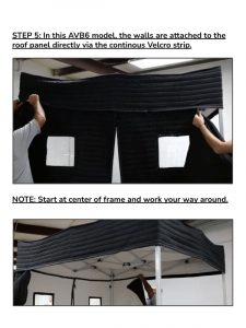 ACCU Booth 6 AVB6 Assembly Instruction (Acoustical Vocal Booth 6*6)