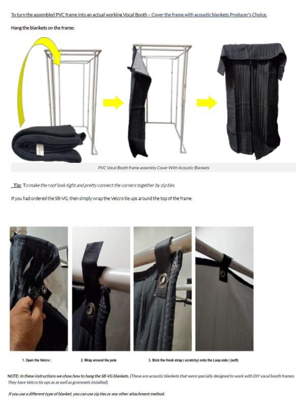 58x58 DIY PVC Instruction
