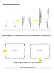 58x78 DIY PVC Instruction