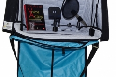 Voice over success kit. Portable vocal Booth